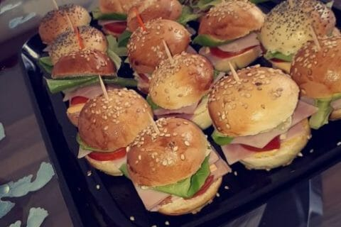 Mini burgers Thermomix par Nati