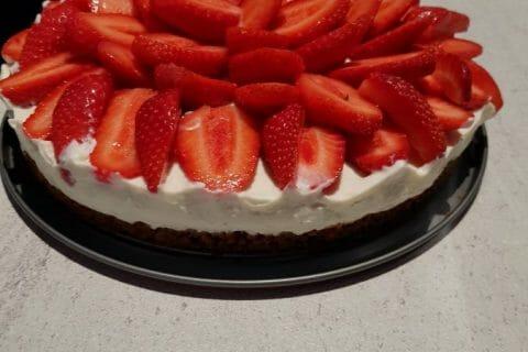 Tarte aux fraises sans cuisson Thermomix par Maryline44