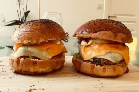 Buns burger Thermomix par Cam.