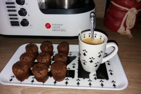 Mini muffins au chocolat Thermomix par boudine80