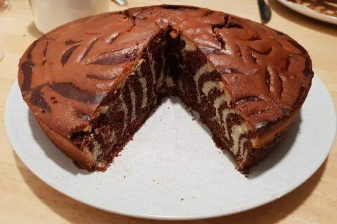 Gâteau zébré Thermomix par line.luthringer@gmail.com