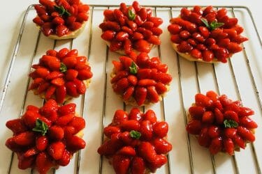 Tarte aux fraises Thermomix par Sabheros