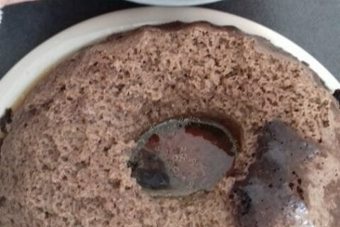 Chocoflan Thermomix par Cat45