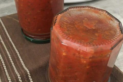 Coulis de tomates Thermomix par Lili0908