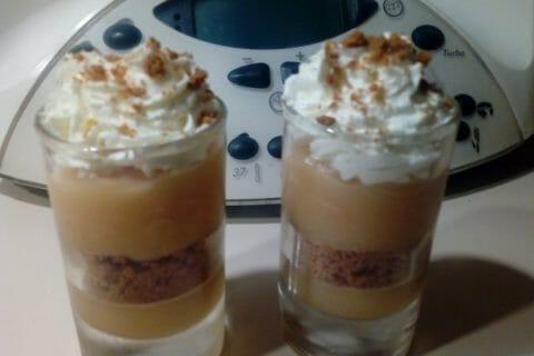 Verrines pommes caramel et spéculoos Thermomix par Syriaubenthi