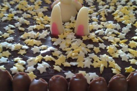 Gâteau lapin de Pâques au Thermomix