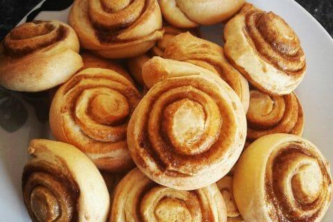 Cinnamon roll Thermomix par lutim14