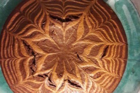 Gâteau zébré Thermomix par Celyn-24