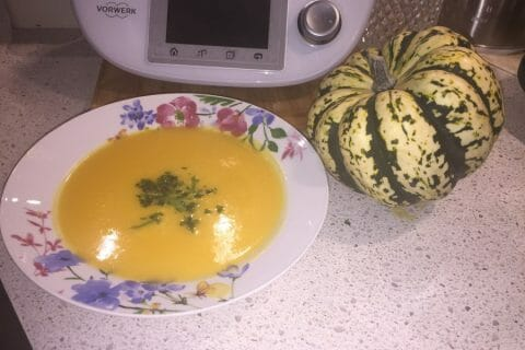 Soupe de citrouille Thermomix par Marifati