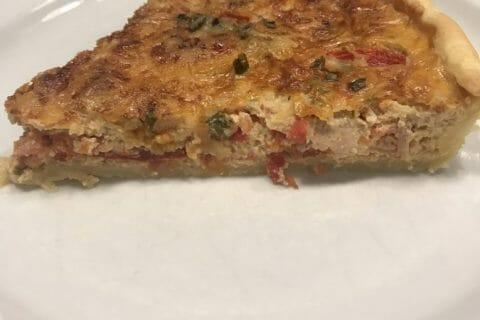 Tarte au thon, tomate et moutarde Thermomix par Orely77