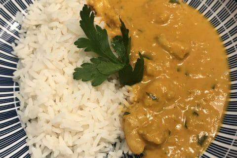 Curry de crevettes au lait de coco Thermomix par Orely77