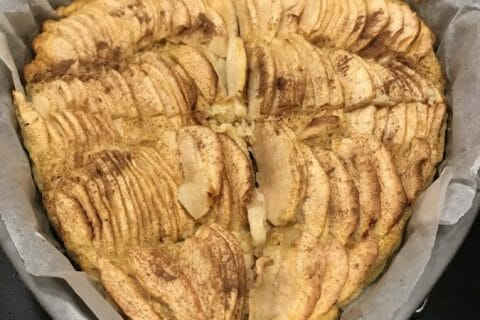 Tarte aux pommes sans pâte Thermomix par Orely77