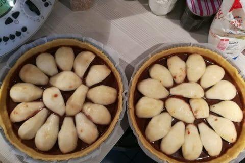 Tarte poires et chocolat Thermomix par Laeti67