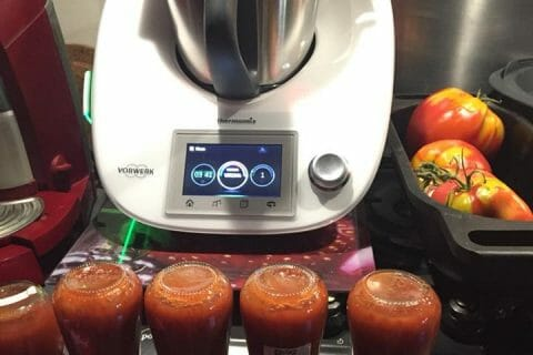 Coulis de tomates au Thermomix
