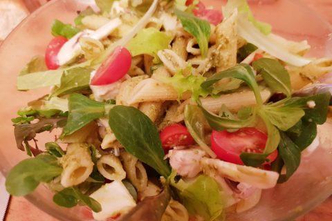 Salade de penne à l'italienne Thermomix par Lisou5457
