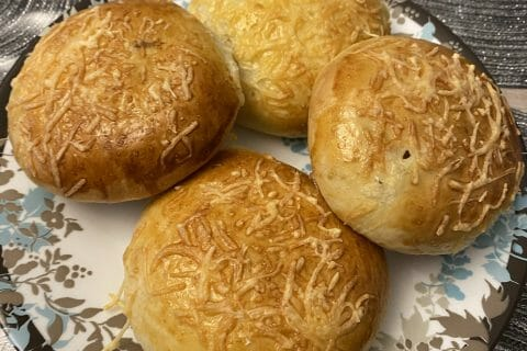 Bun's jambon fromage au Thermomix