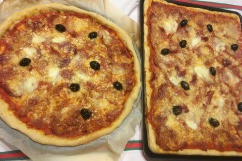Pâte à pizza Thermomix par Tra Coste