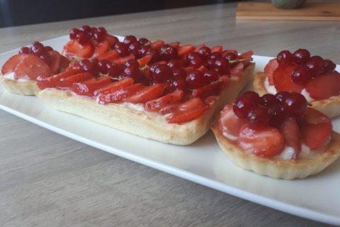 Tarte aux fraises Thermomix par Iman