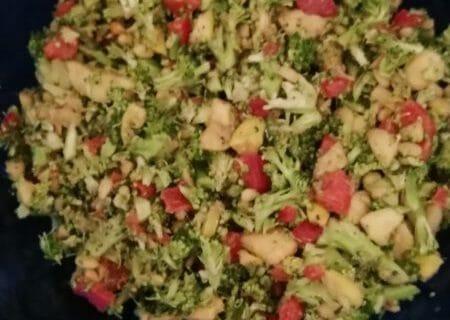 Salade de brocolis Thermomix par Ninon13