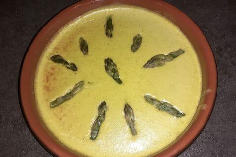Flan aux asperges et parmesan au Thermomix