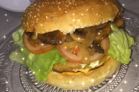 Pains hamburger Thermomix par Dounia