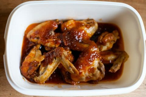 Sticky lemon chicken wings Thermomix par Jeanne