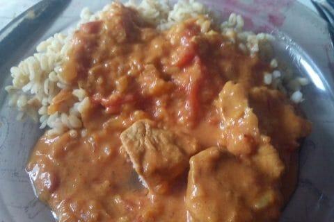Sauté de porc au curry au Thermomix