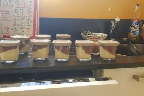 Crème dessert au deux saveurs au Thermomix