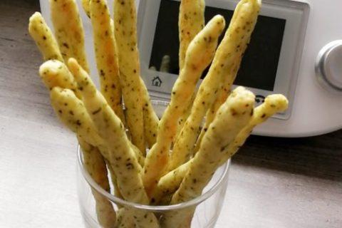 Gressins parmesan basilic Thermomix par Ludivine_2