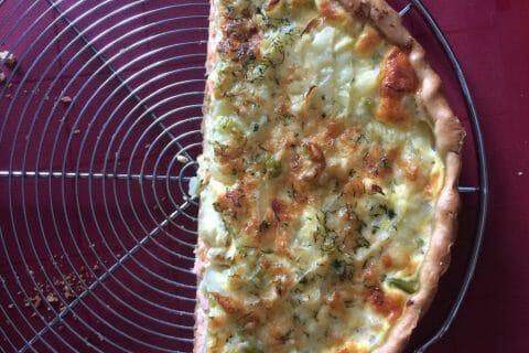 Tarte au fenouil et saumon Thermomix par Louisor