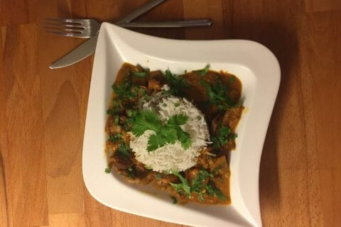 Curry de boeuf Thermomix par Taima
