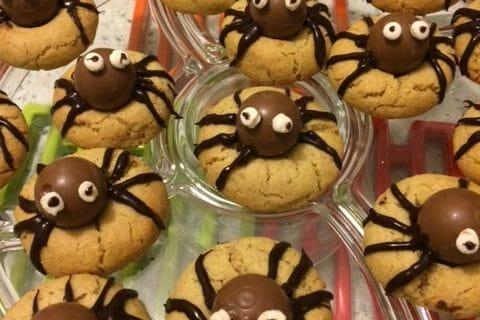 Spider cookies (cookies araignées) Thermomix par angie74