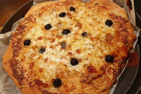 Pizza 4 fromages Thermomix par cordo1983