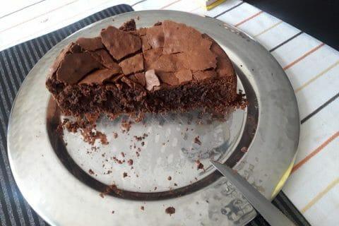 Gâteau macaroné au chocolat Thermomix par Vanessalana