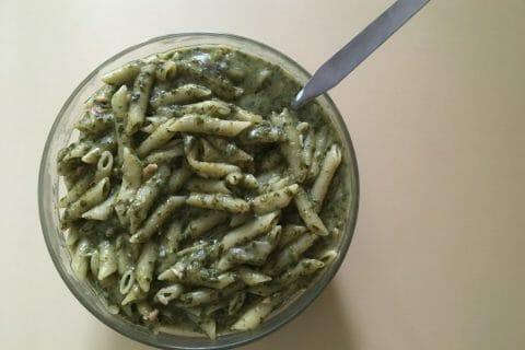 One pot pasta – épinards et saumon fumé Thermomix par Haindash