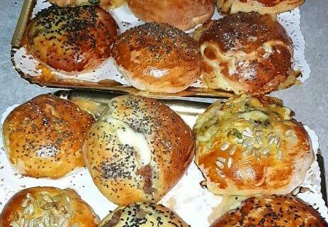 Petits pains farcis au boeuf Thermomix par Gaelh