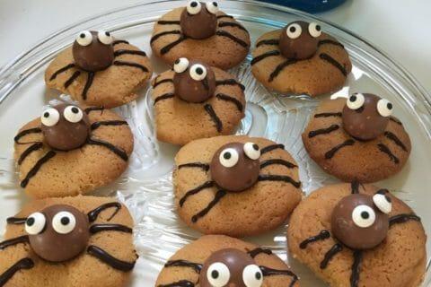 Spider cookies (cookies araignées) Thermomix par France090465