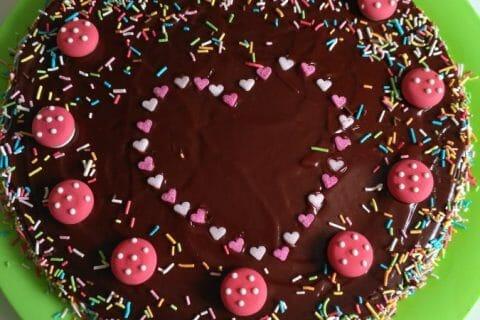 Gâteau au chocolat et courgettes Thermomix par celinetteyo