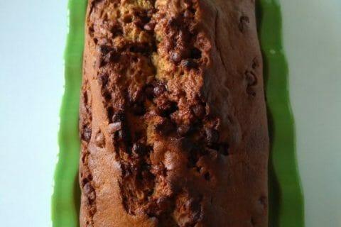 Cake banane et pépites de chocolat Thermomix par celinetteyo