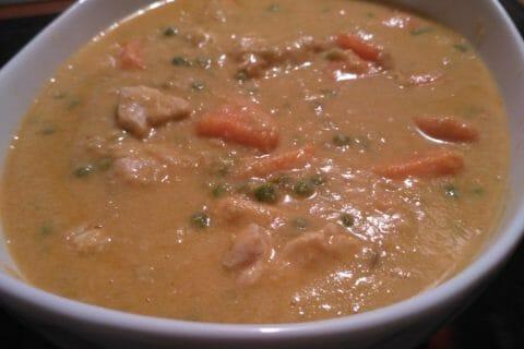 Curry de poulet aux patates douces Thermomix par celinetteyo