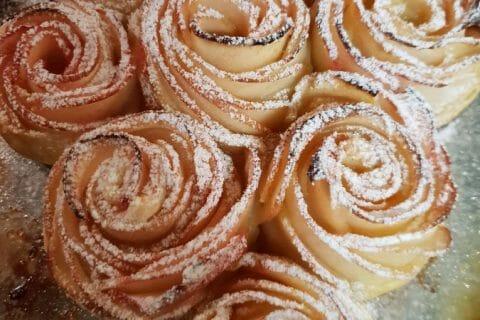 Roses feuilletées aux pommes Thermomix par Elizabeta