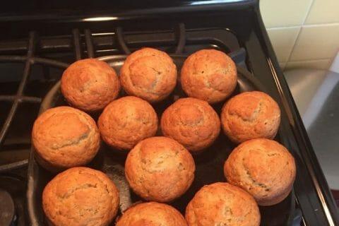 Muffins à la banane Thermomix par Clairainette