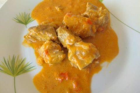 Sauté de porc au curry Thermomix par 07cathy