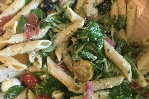 Salade de penne à l'italienne Thermomix par lomayawia