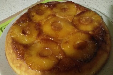 Gâteau renversé à l'ananas Thermomix par Synoumi