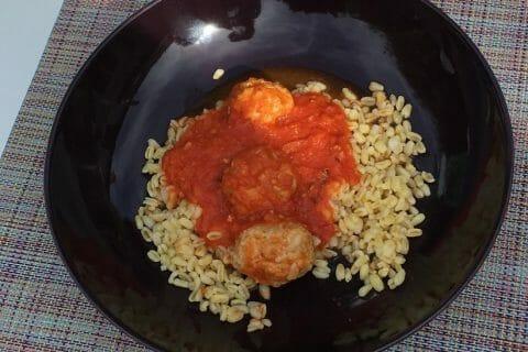 Boulettes de viandes à la sauce tomate Thermomix par mcmaes83@gmail.com