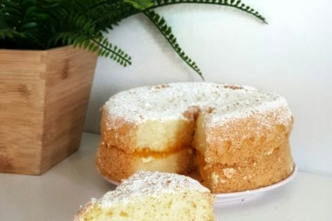Gâteau de savoie Thermomix par lilasoumissa