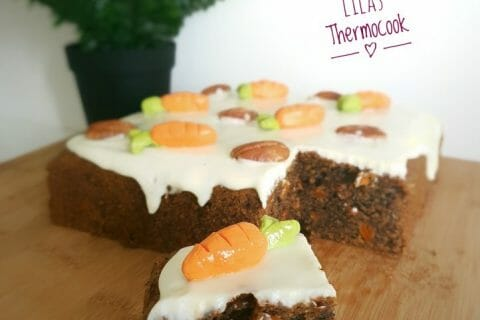 Carrot cake Thermomix par lilasoumissa