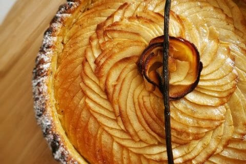 Tarte aux pommes alsacienne Thermomix par lilasoumissa