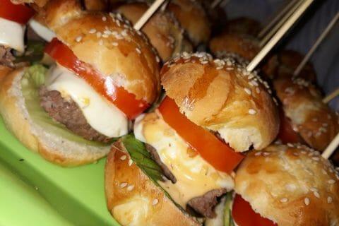 Mini burgers Thermomix par KikaPika